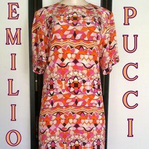 EMILIO PUCCI SILK DRESS NWT SZ 40/4